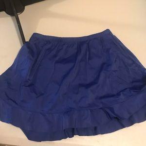 St. John's Bay swim skirt with built in bottom